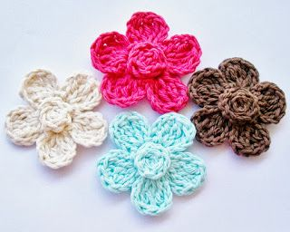 free crochet flower patterns flower girl cottage: free crochet flower pattern TWJXQDS