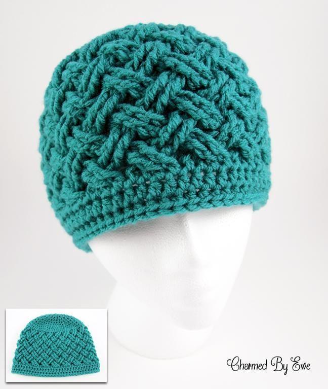 free crochet hat patterns 12 last-minute, one-skein only crochet christmas presents. free crochet hat  patternsknitting ... TYAFRXM