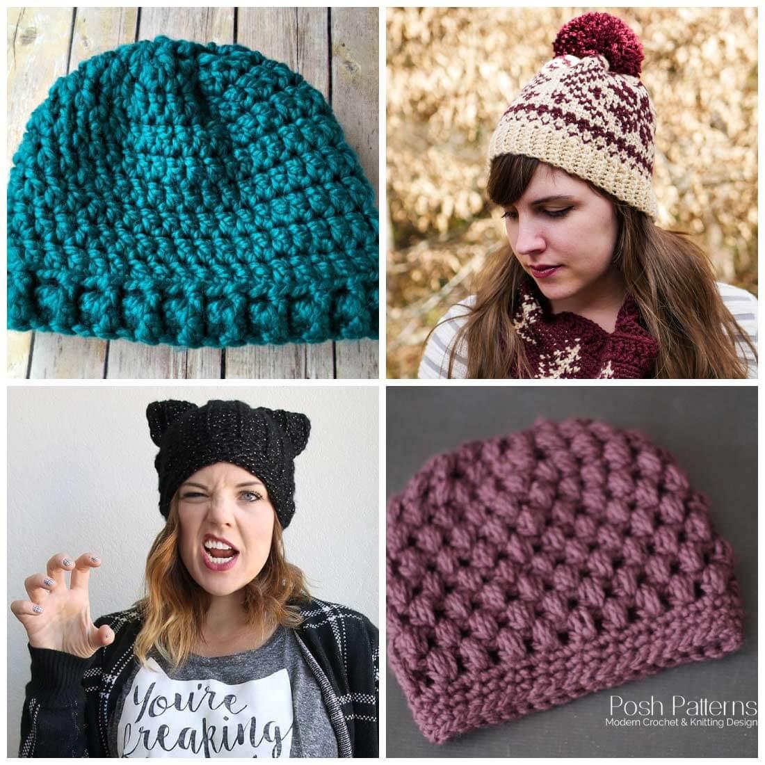 free crochet hat patterns | free crochet patterns | crochet patterns | use  these XFGONRC