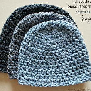 free crochet hat patterns half double crochet hat pattern ZTWWYPV