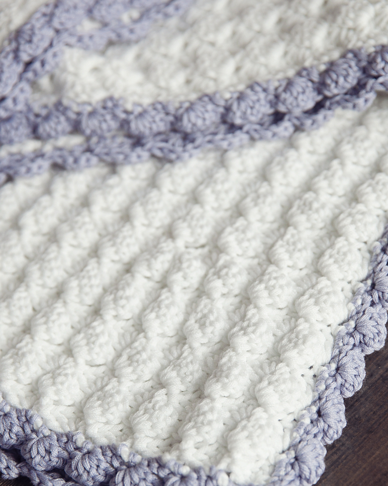 free crochet patterns for baby blankets vintage chic free crochet baby blanket pattern - leelee knitsleelee knits ZLKELMX