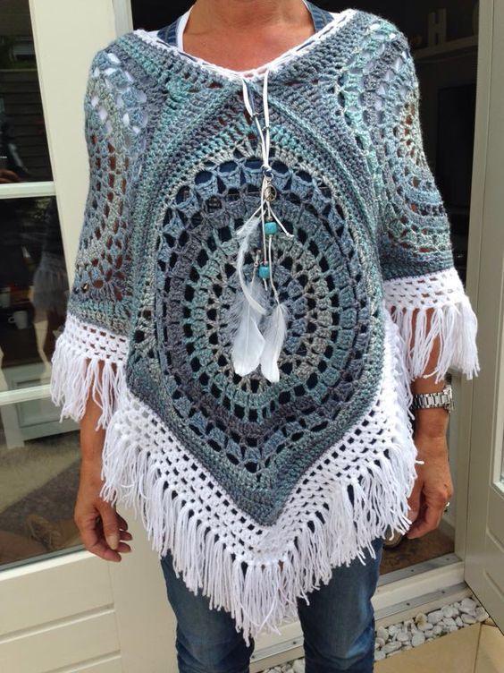free crochet poncho patterns click to view pattern for - crochet poncho SPSYIDJ