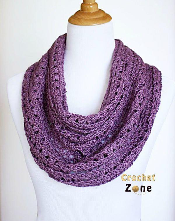 free crochet scarf patterns perfectly purple crochet scarf | allfreecrochet.com PNURXQE