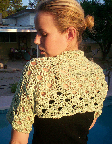 free crochet shrug pattern for summer FKUWKPF