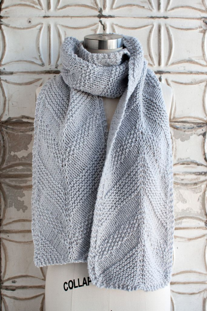Free knitted scarf patterns – design your own pattern