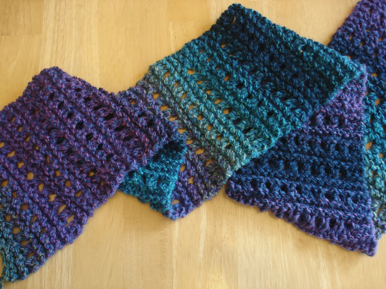 free knitted scarf patterns free knitting patterns. tweedy eyelet scarf MHBOMDZ