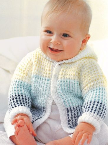 free knitting patterns for children hooded cardigan TUSXQMC