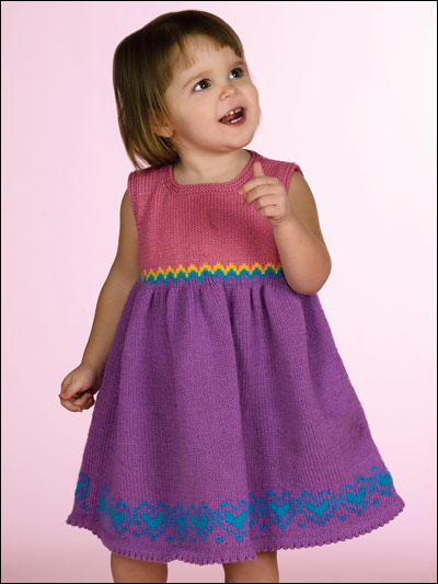 free knitting patterns for children little sweetheart VCYOAOZ