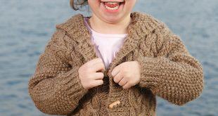 free knitting patterns for children stylish-free-knitting-patterns-for-childrens-aran-cardigans- QJVCJPS