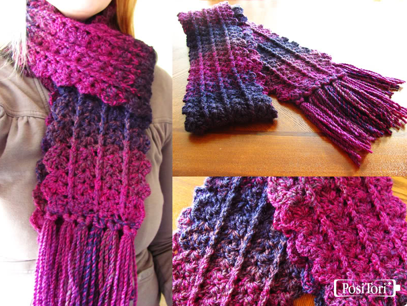 free scarf crochet patterns if you like thick, wide scarves that can create a powerful impression when  you WCXYTWP