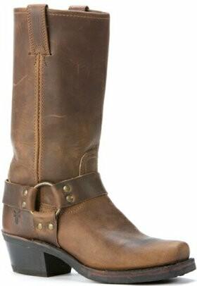fry boots frye womenu0027s 77300-tan harness 12r OIJUTIA