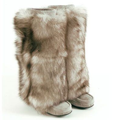 furry boots !! these are great! TNIBBGD