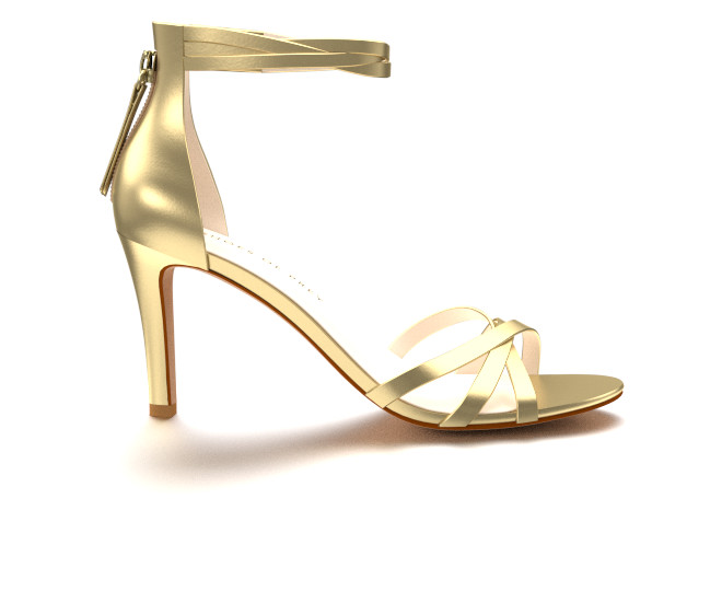 gold high heels elegant gold high-heeled evening sandals JUCQTNN