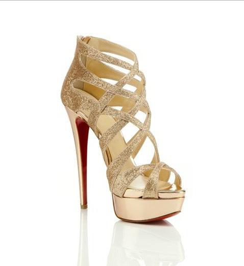 gold high heels platform gold high heel sandals YJPMVBG