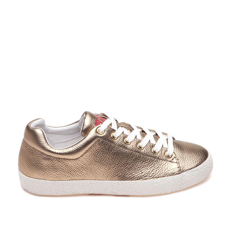gold sneakers ash nicky bis gold sneaker IZIJNHA