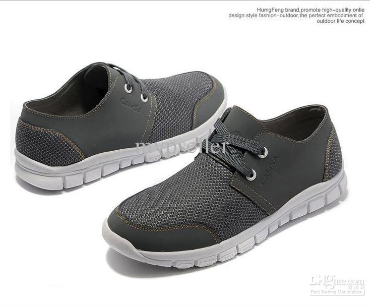 grey shoes cheap fashion mens sports casual shoes breathable shoes single  shoe england style EVWQSKL