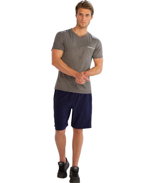 gym wear for men buy comfy half sleeve v-neck tees for men from gym clothes store in usa KCMREBS