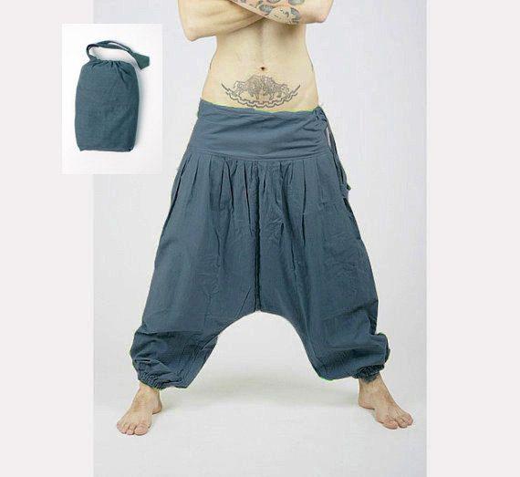 harem pants - aladdin pants - harem trousers - yoga pants - cotton afghani ECIRKIU
