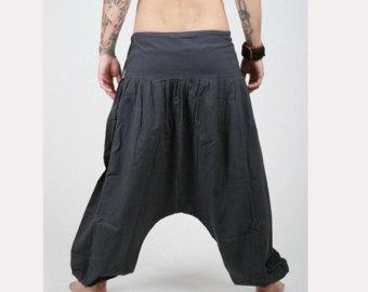 harem pants - aladdin pants - harem trousers - yoga pants - cotton afghani VGJKCDW
