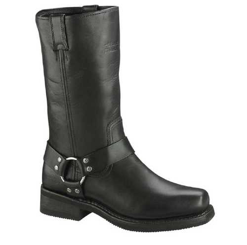harley boots harley-davidson® mens hustin 11-inch pull-on harness motorycle black boots UBVNKZH