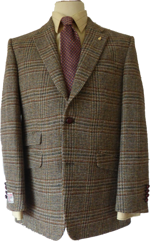 harris tweed jacket JOBKIAS