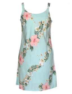 hawaiian dresses hibiscus leis short hawaiian dress WSHZEHE