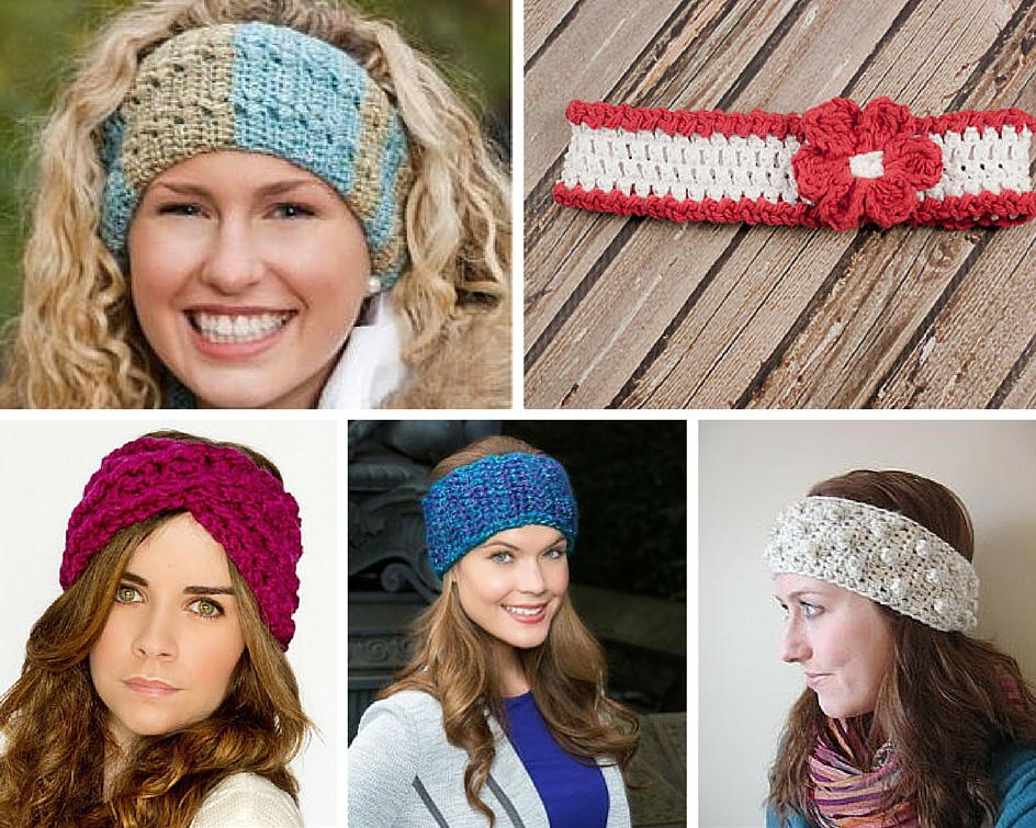 headband crochet pattern 61 crochet headband patterns and accessories | allfreecrochet.com VXCYWHT