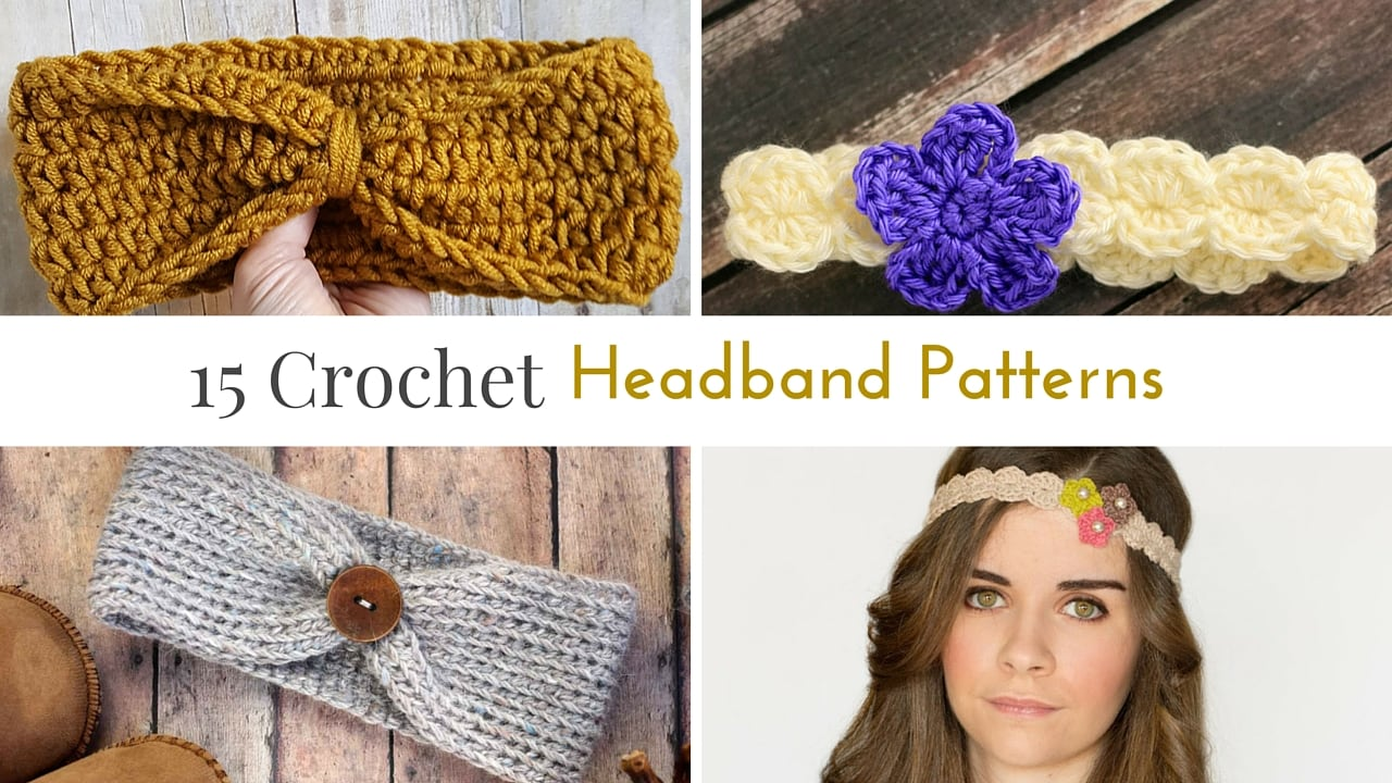 headband crochet pattern free crochet headband patterns AVKQPKG
