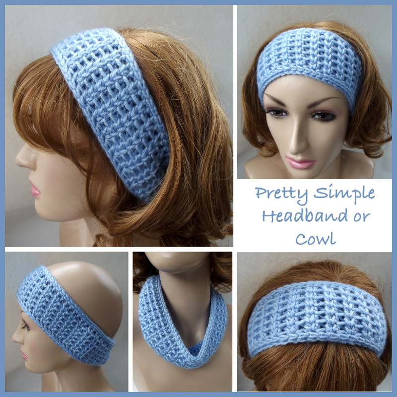 headband crochet pattern pretty simple headband or cowl ~ free crochet pattern NAOUVXV