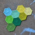 Hexagon crochet patterns to make beautiful blankets