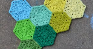 hexagon crochet pattern since i have crochet add, i decided to start another one. i love hexagons XEAZVCQ