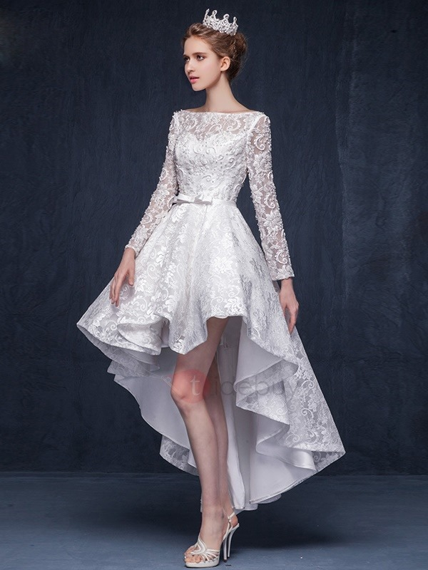 High low prom dresses give the feeling of real diva