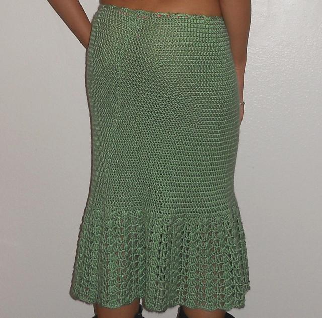 hip hugging crochet skirt pattern IVKDLGD