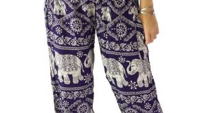 hippie pants elephant pants /hippies pants /boho pants one size fits dark puple YABWSOA