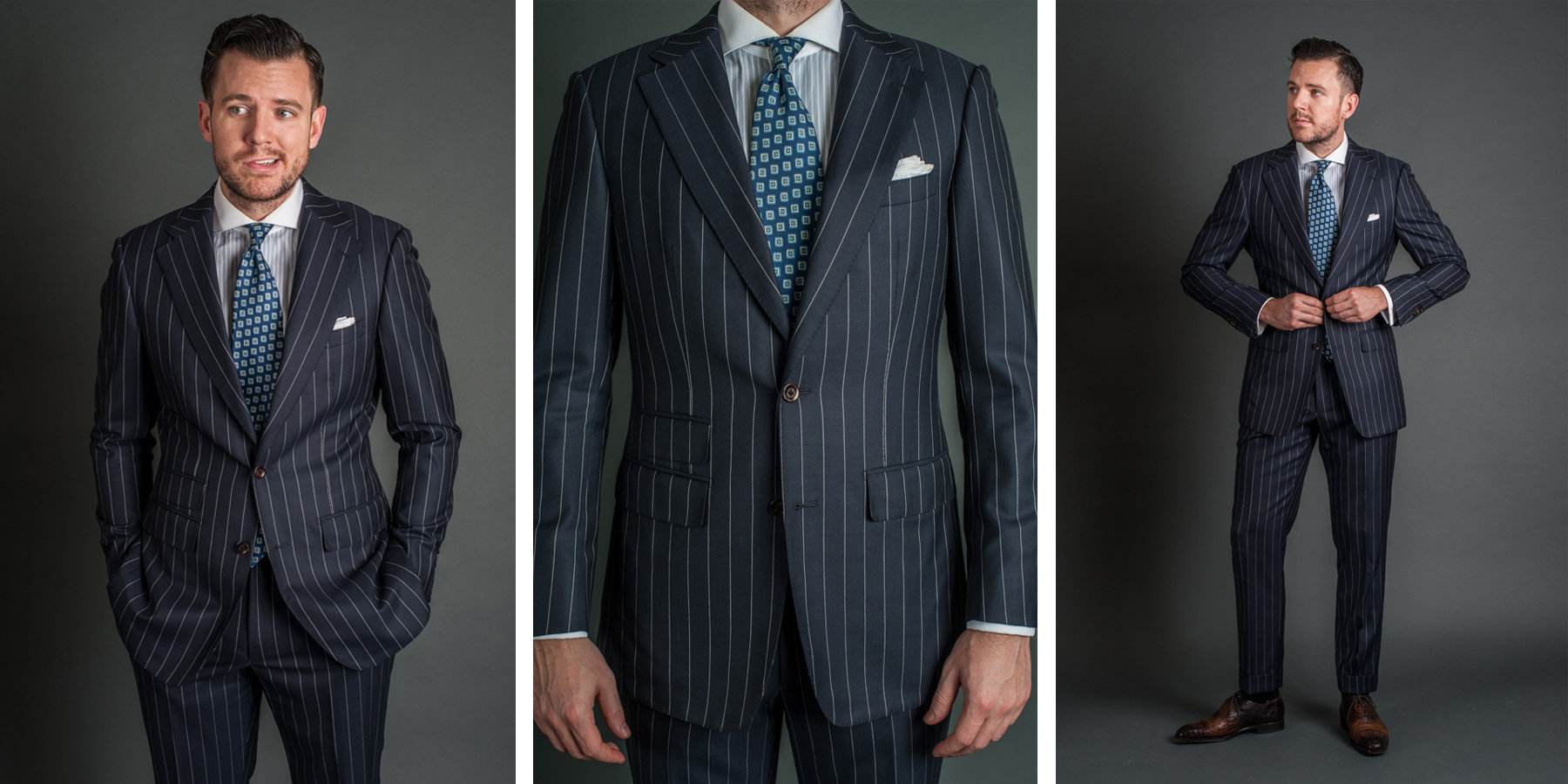 how to spot a well-made pinstripe suit | articles of style EIBTSVP