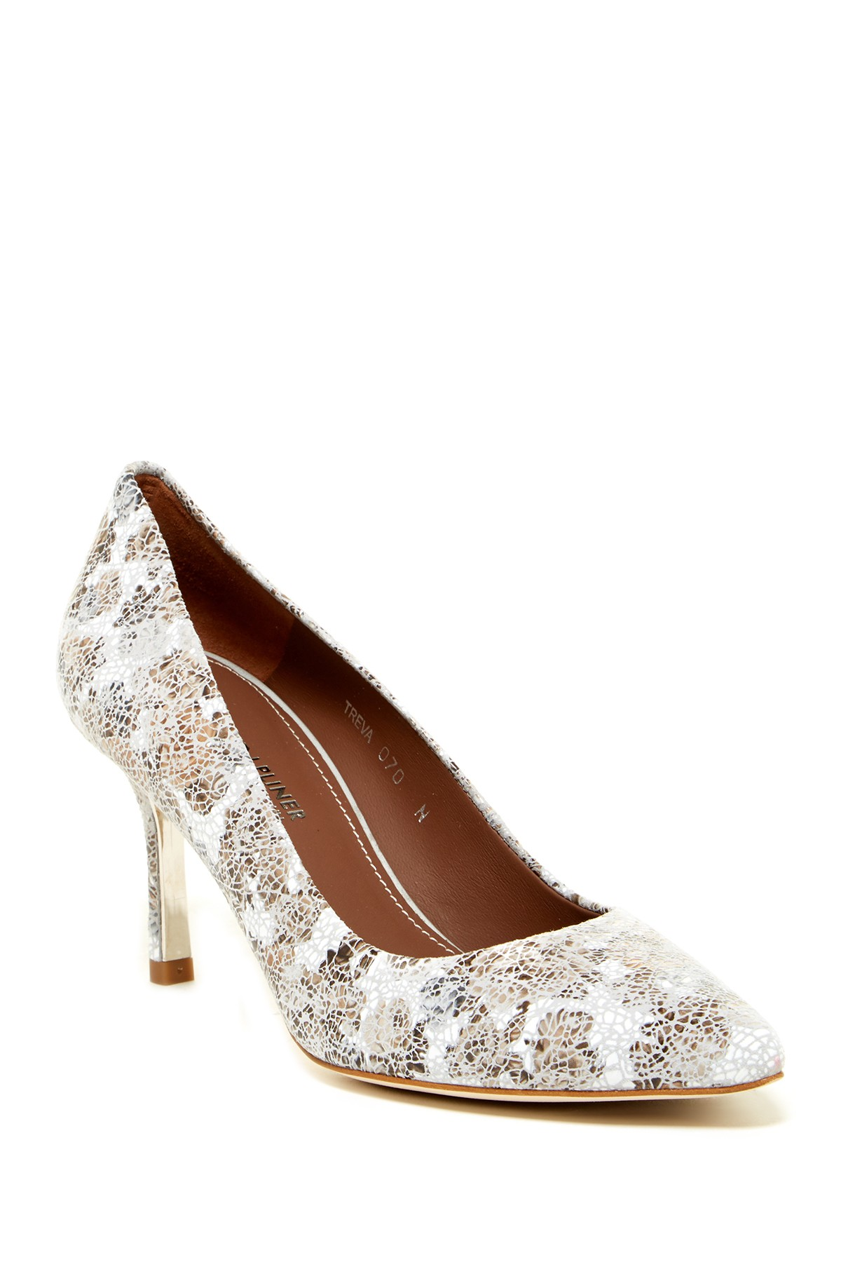 image of donald j pliner treva crackle floral pump - narrow width available MSNFPCG
