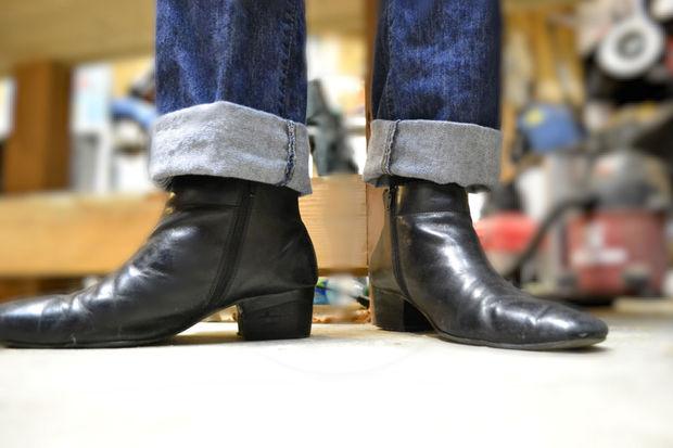 introduction: reheeling beatle boots IOLPSSF