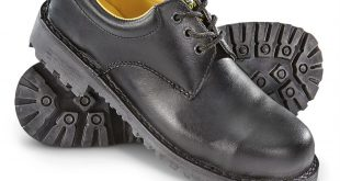 italian military surplus steel toe work shoes, new, black SOVWGOQ