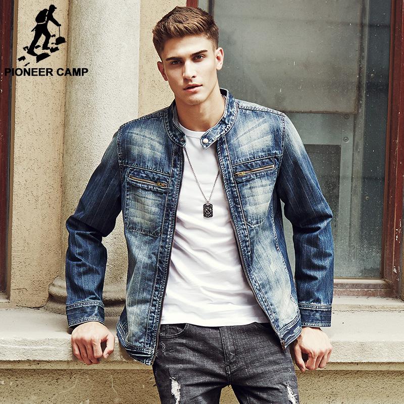 jean jackets for men pioneer camp 2017 new arrival denim jacket men fashion brand clothing jeans  jackets male LAWJOUV