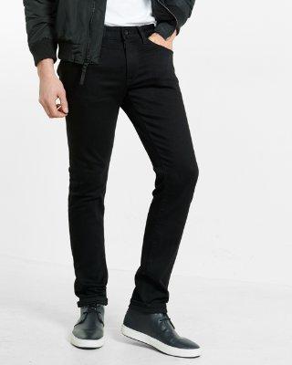 jeans for men skinny black stretch+ jeans | express YCGQBVI