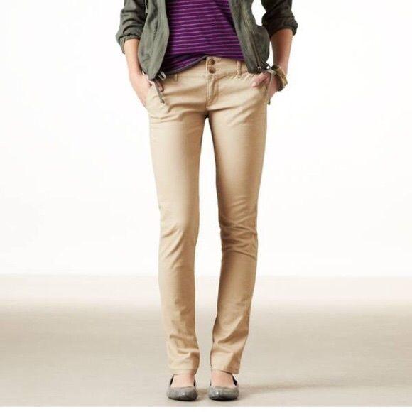 khaki pants for women american eagle women khaki pants nwt DWFNMVH