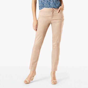 khaki pants for women quick view GNUXBXS