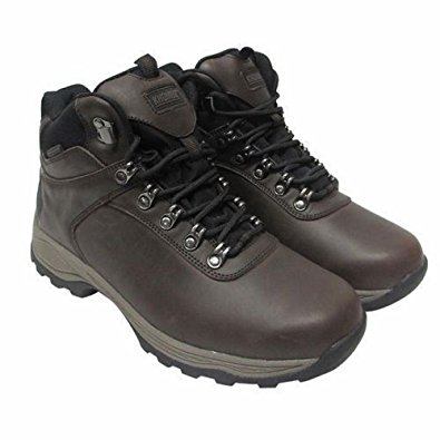 khombu boots khombu menu0027s leather boot brown hiker ravine waterproof ... DULOEOW
