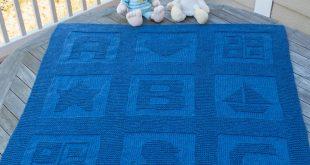 knit baby blanket free knitting pattern for abc baby blanket JMERDNB