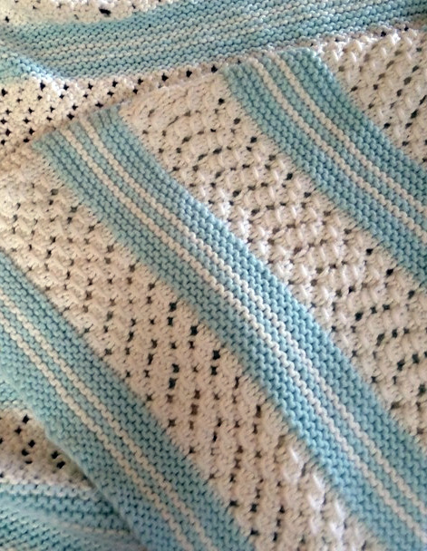 knit baby blanket free knitting pattern for easy garter stitch baby blanket IPFKMZR