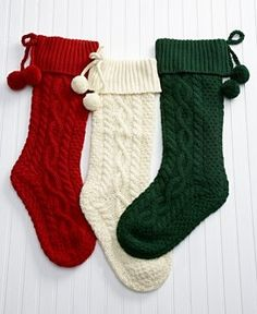 knit christmas stockings macy*s - tree skirts u0026 stockings - holiday lane red cableknit stocking. knitted  christmas OEXMHNR