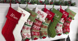 knit christmas stockings personalized snowflake knit christmas stocking, available in 11 designs -  walmart.com TQAXAJZ