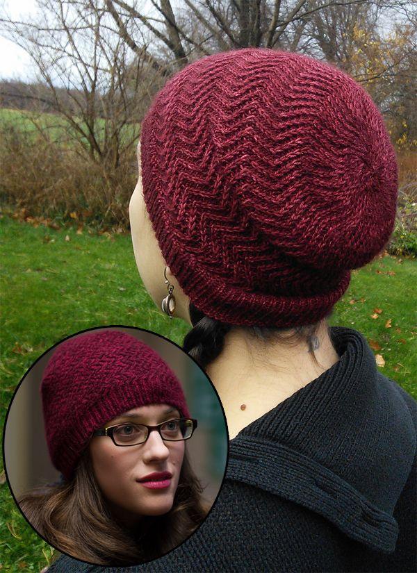 knit hat free knitting pattern for mjolnir hat - the mjolnir hat is raven sherbou0027s  recreation HMRMWVQ