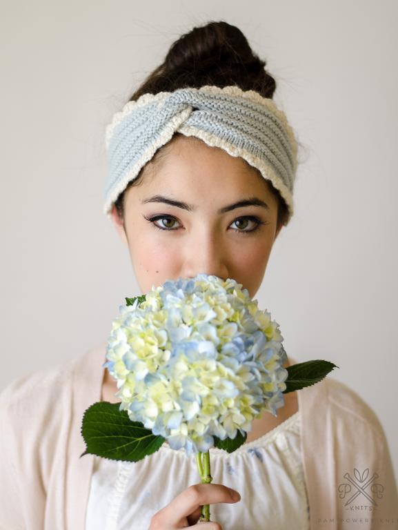 knit headband pattern chambray headband knitting pattern QNHBRVW
