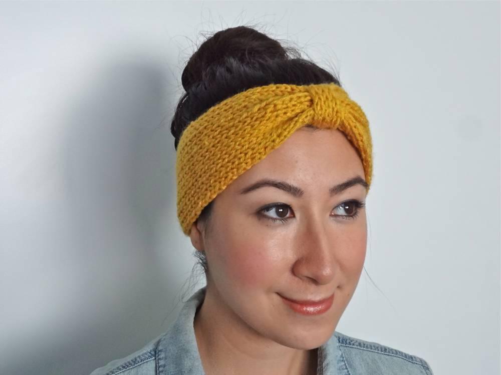 knit headband pattern free knit bowtie headband pattern PYAITDJ